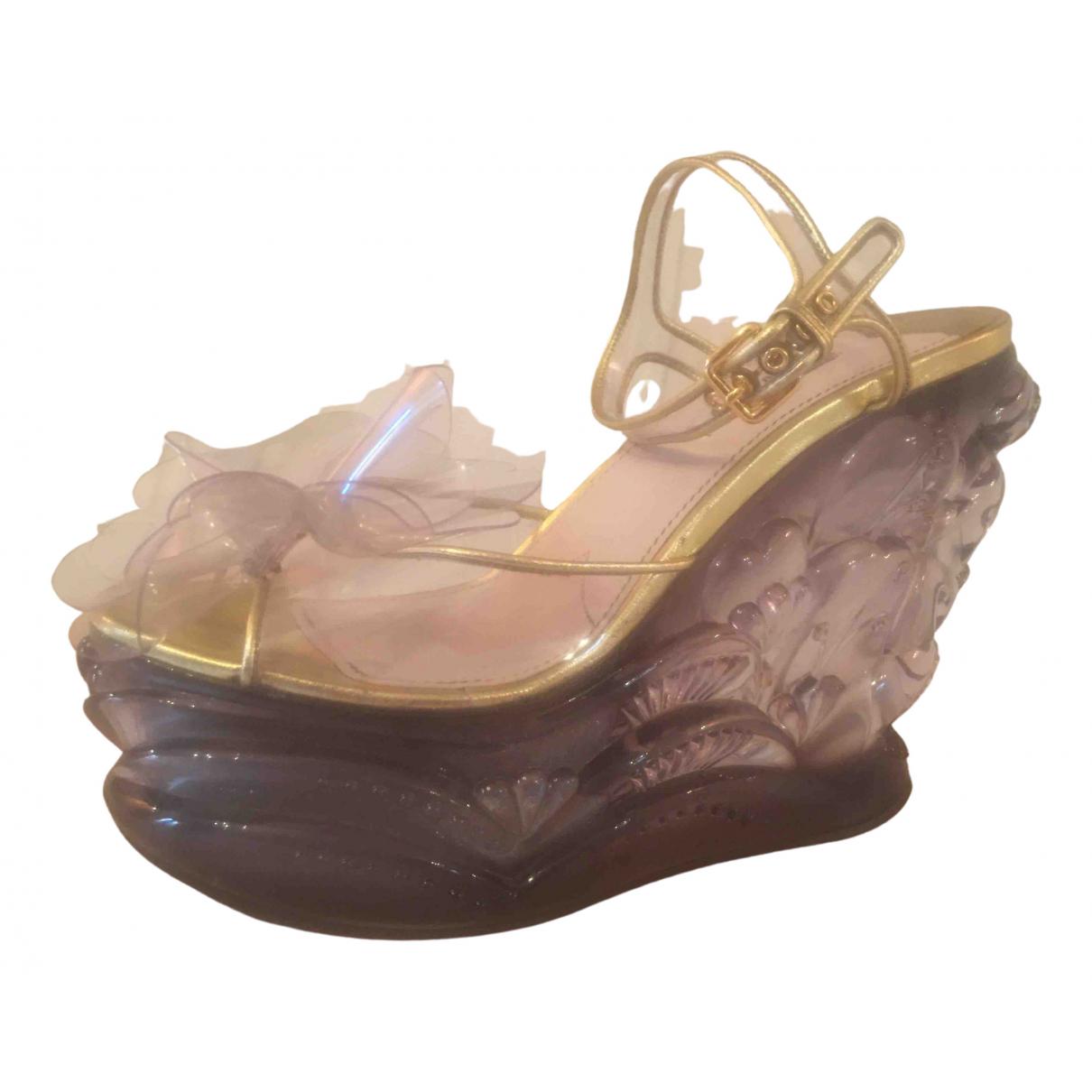 Miu Miu \N Sandalen in Kunststoff