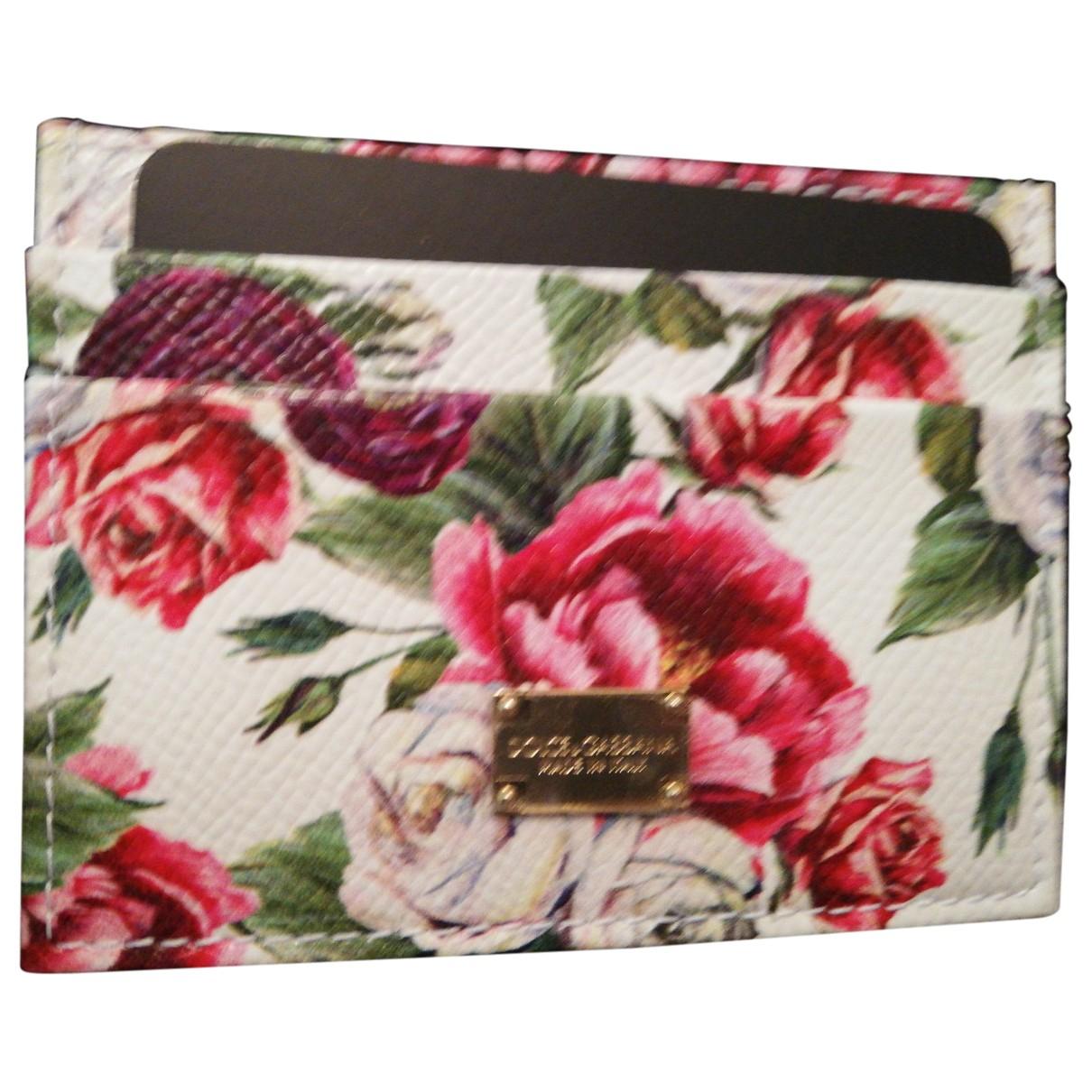 Dolce & Gabbana - Petite maroquinerie   pour femme en cuir - multicolore
