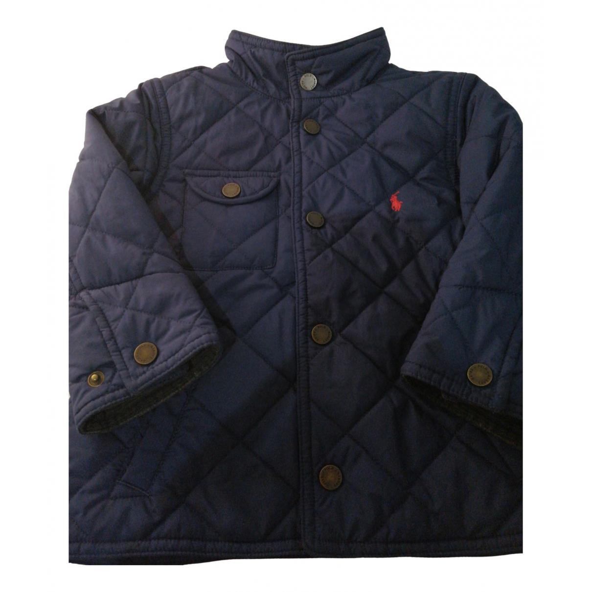 Polo Ralph Lauren - Blousons.Manteaux   pour enfant - marine