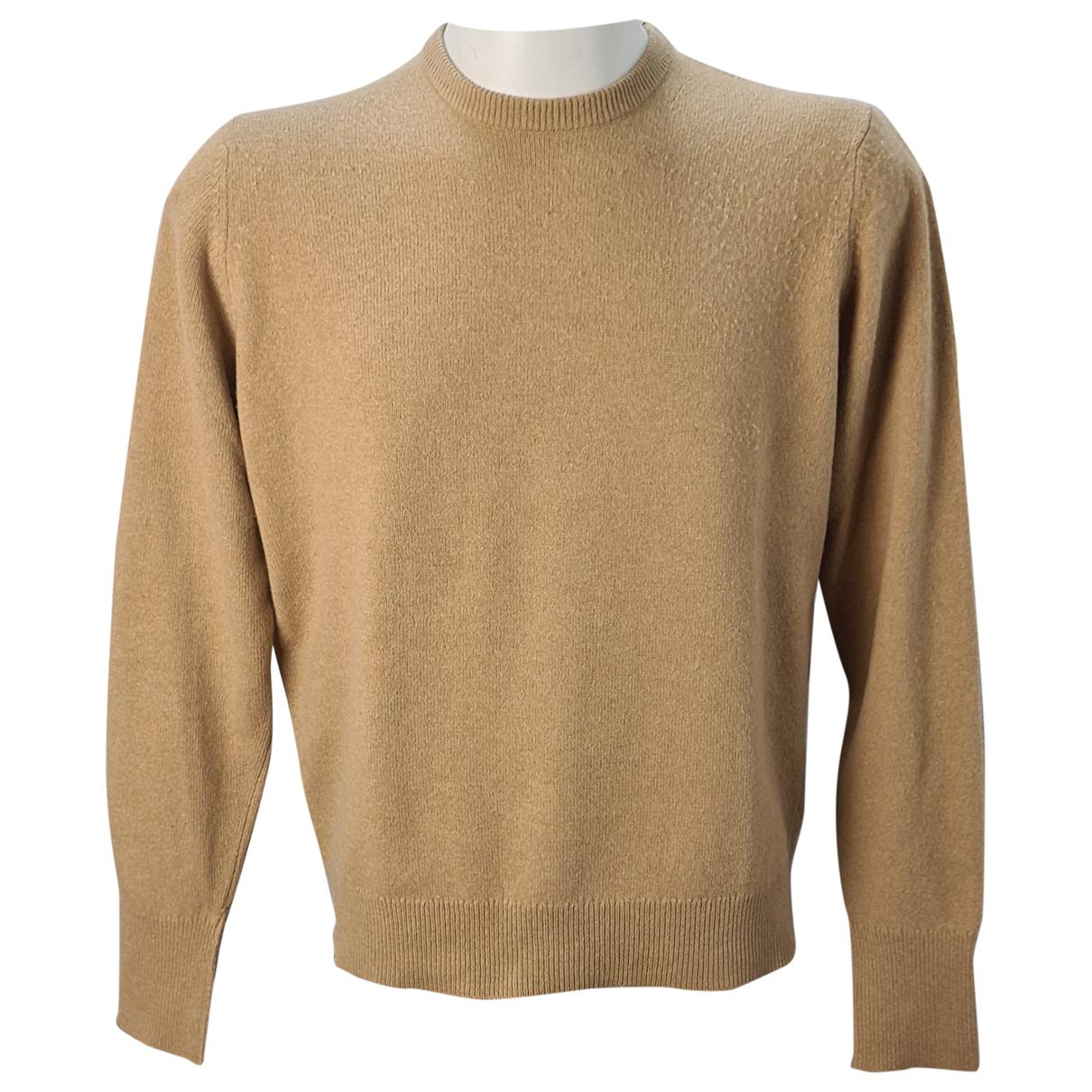 Burberry \N Pullover.Westen.Sweatshirts  in  Beige Kaschmir