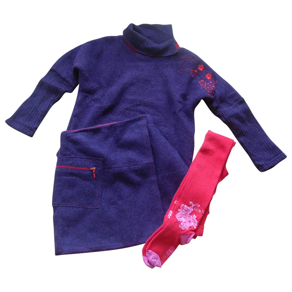 Kenzo \N Purple Wool Outfits for Kids 4 years - up to 102cm FR