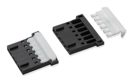 Molex , SL Male Connector Housing, 2.54mm Pitch, 6 Way, 1 Row (10)