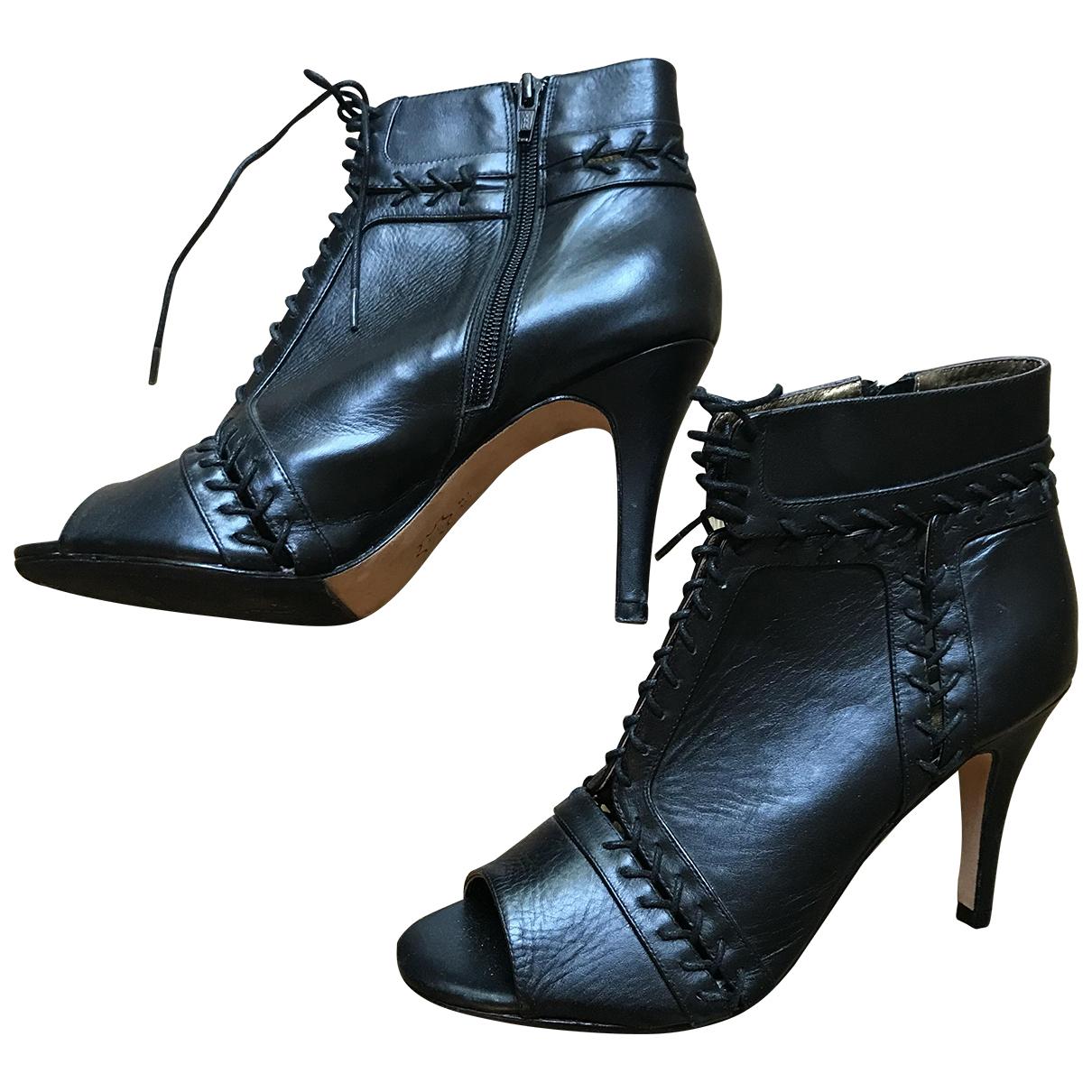 Cynthia Vincent \N Pumps in  Schwarz Leder