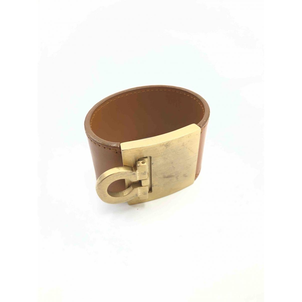 Salvatore Ferragamo \N Armband in Leder
