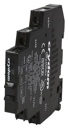 Sensata / Crydom 6 A dc Solid State Relay, Zero Voltage Turn-On, DIN Rail, Triac, 280 V ac Maximum Load