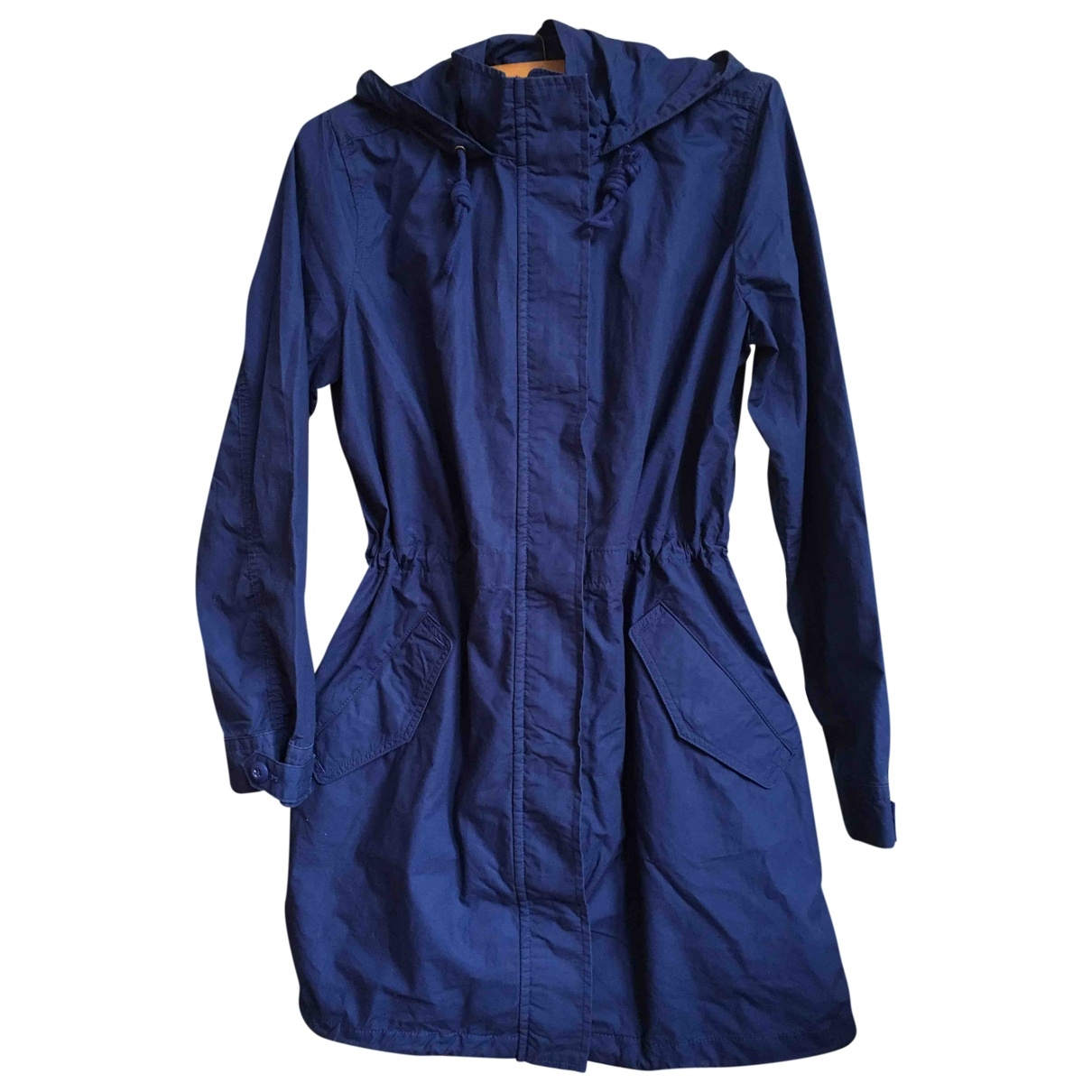 Levi's \N Blue Cotton Trench coat for Women M International