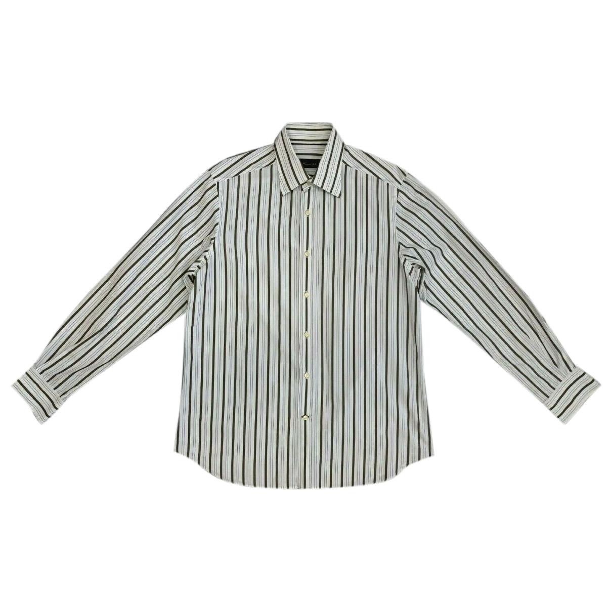 Massimo Dutti \N Hemden in  Khaki Baumwolle