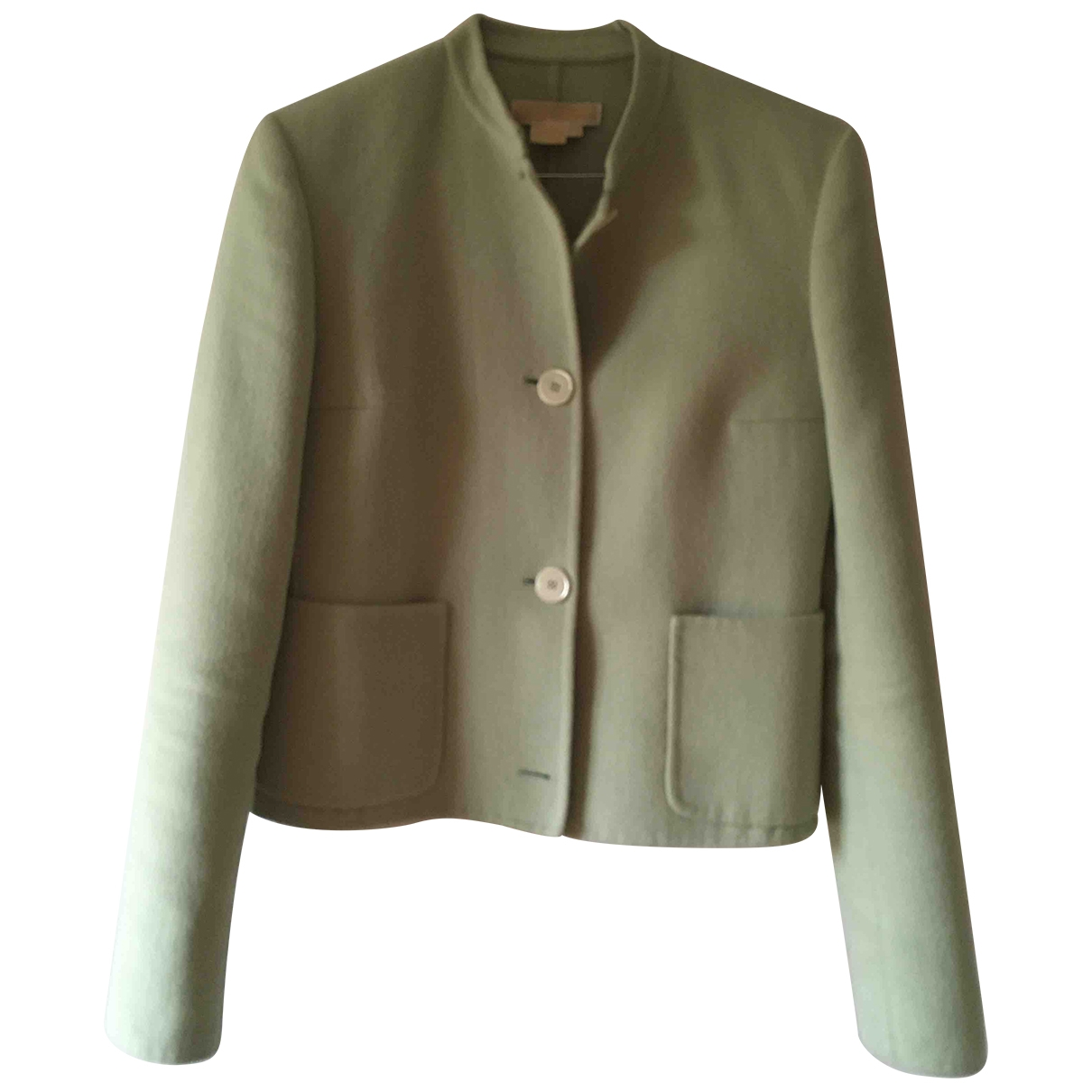 Michael Kors - Veste   pour femme en laine - vert