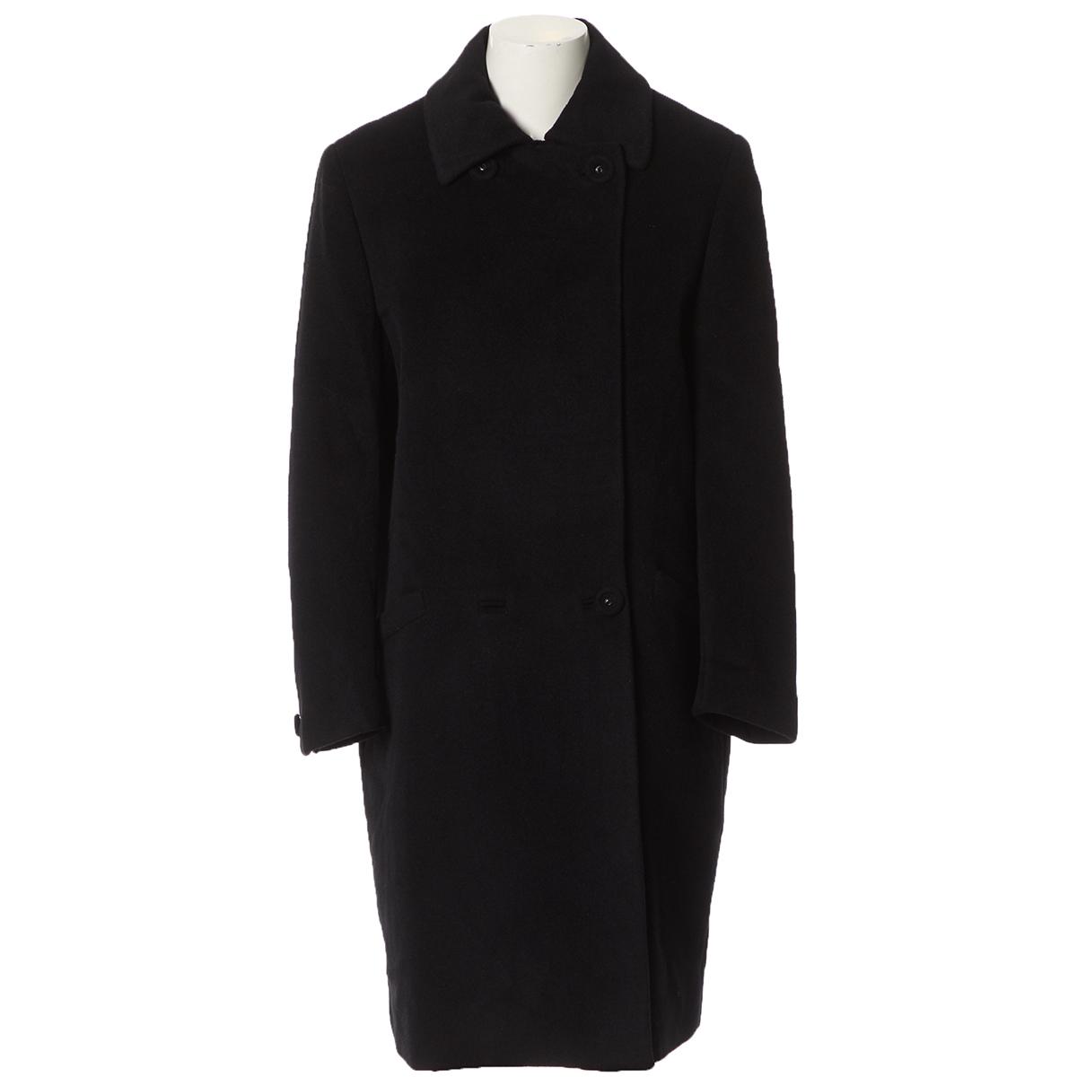 Gianni Versace \N Maentel in  Schwarz Wolle