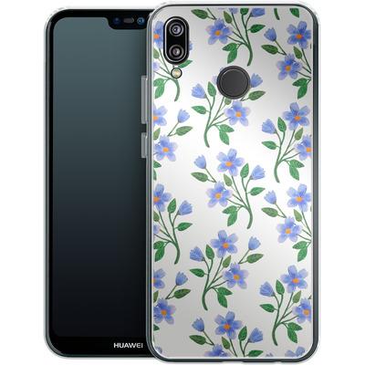 Huawei P20 Lite Silikon Handyhuelle - Fresh Bloom von Iisa Monttinen