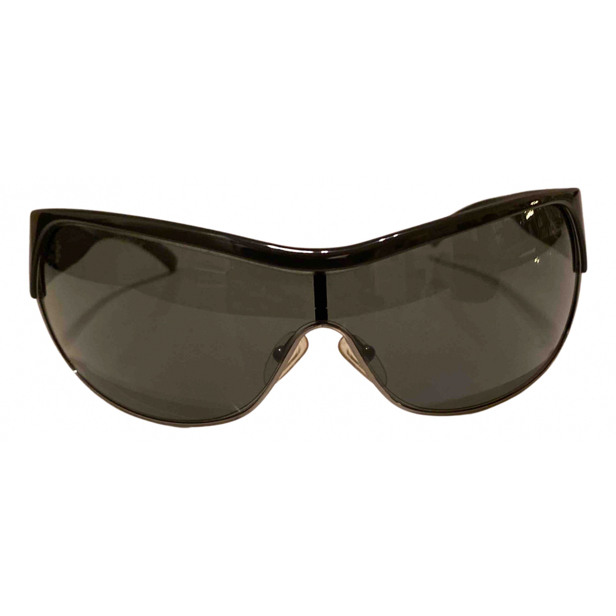 Emporio Armani N Grey Leather Sunglasses for Men N