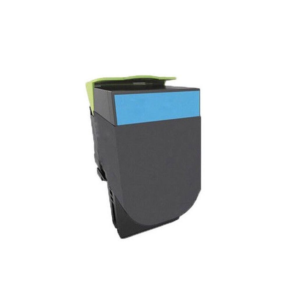 1PK Compatible 71B0020 (71B10C0) Cyan Toner Cartridge for Lexmark CS-317 417 517 (Pack of 1) (Cyan)