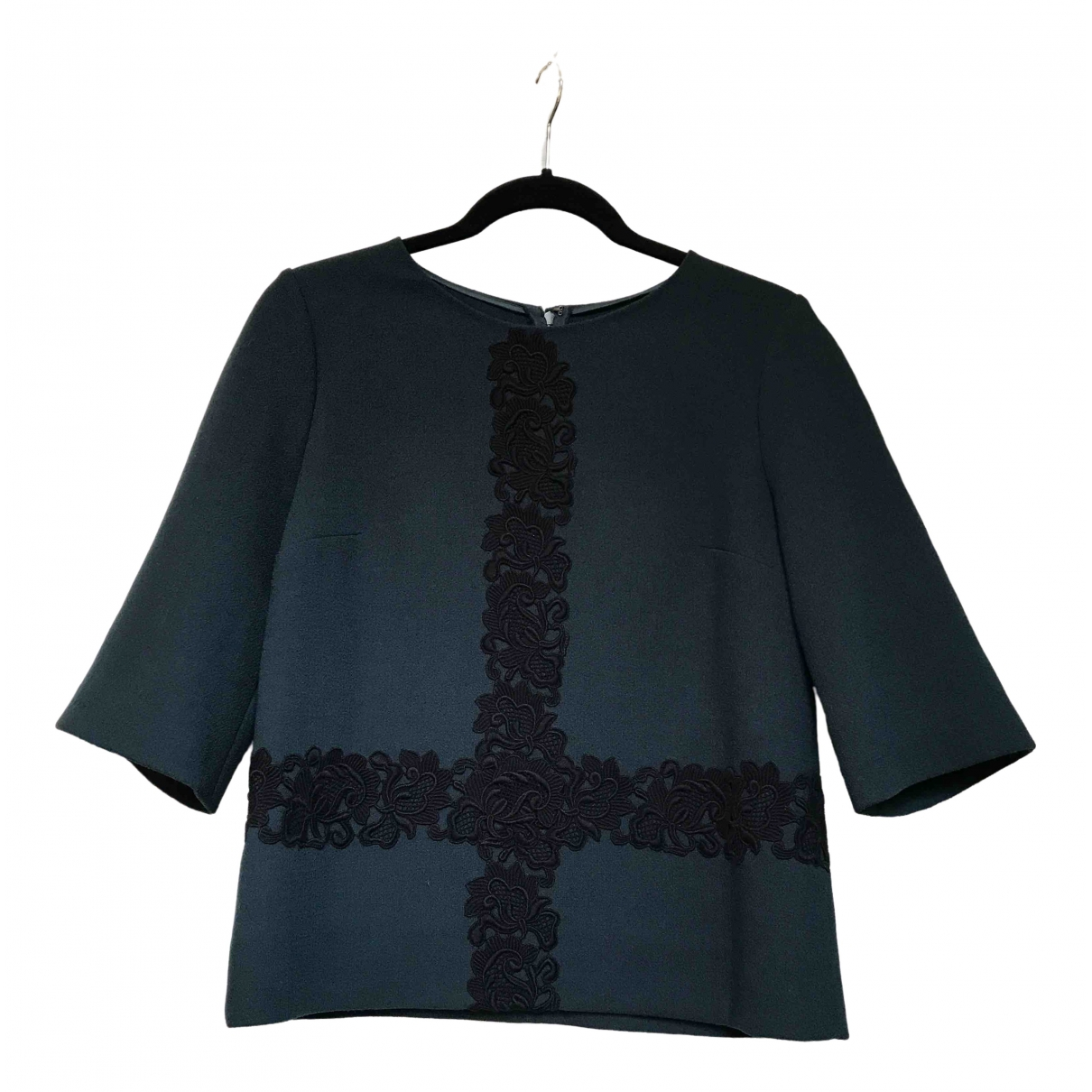 Dolce & Gabbana \N Green Wool  top for Women 40 IT