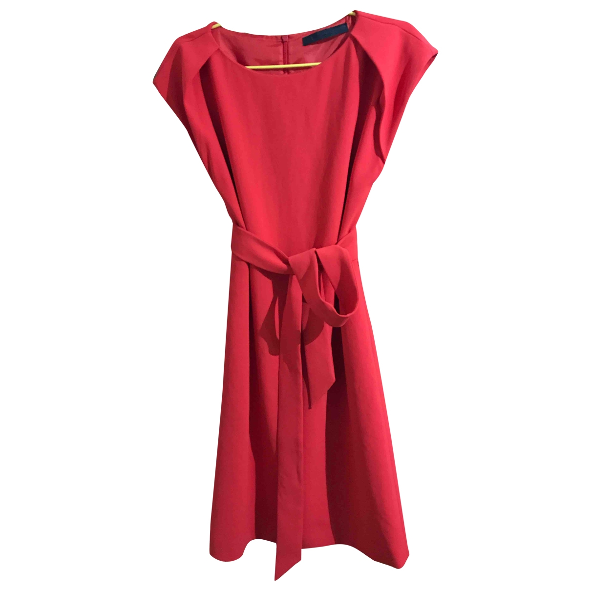Karl Lagerfeld \N Kleid in  Rot Polyester