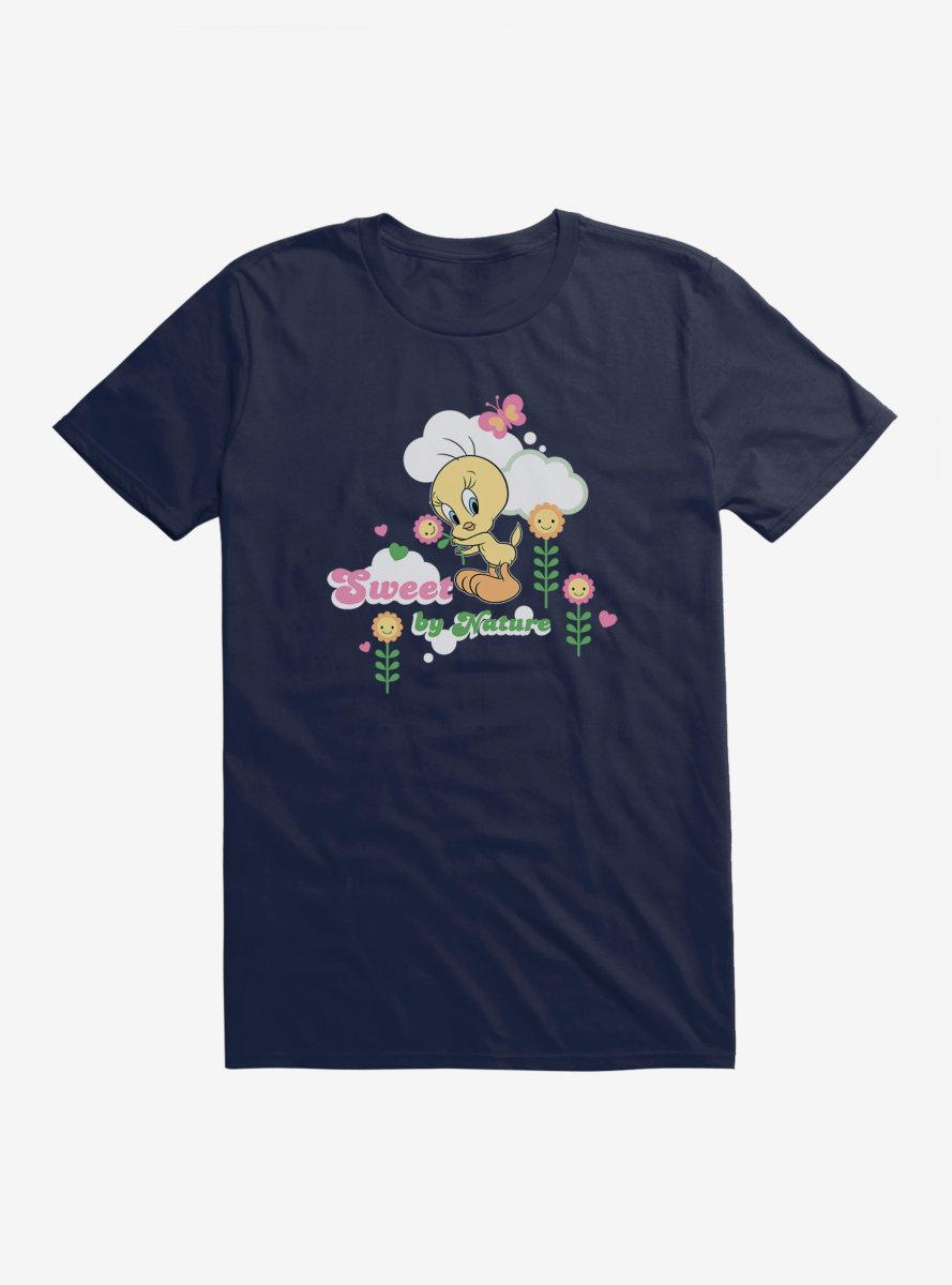 Looney Tunes Tweety Bird Sweet By Nature T-Shirt