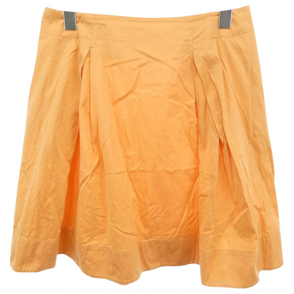 Jil Sander \N Rocke in  Orange Baumwolle