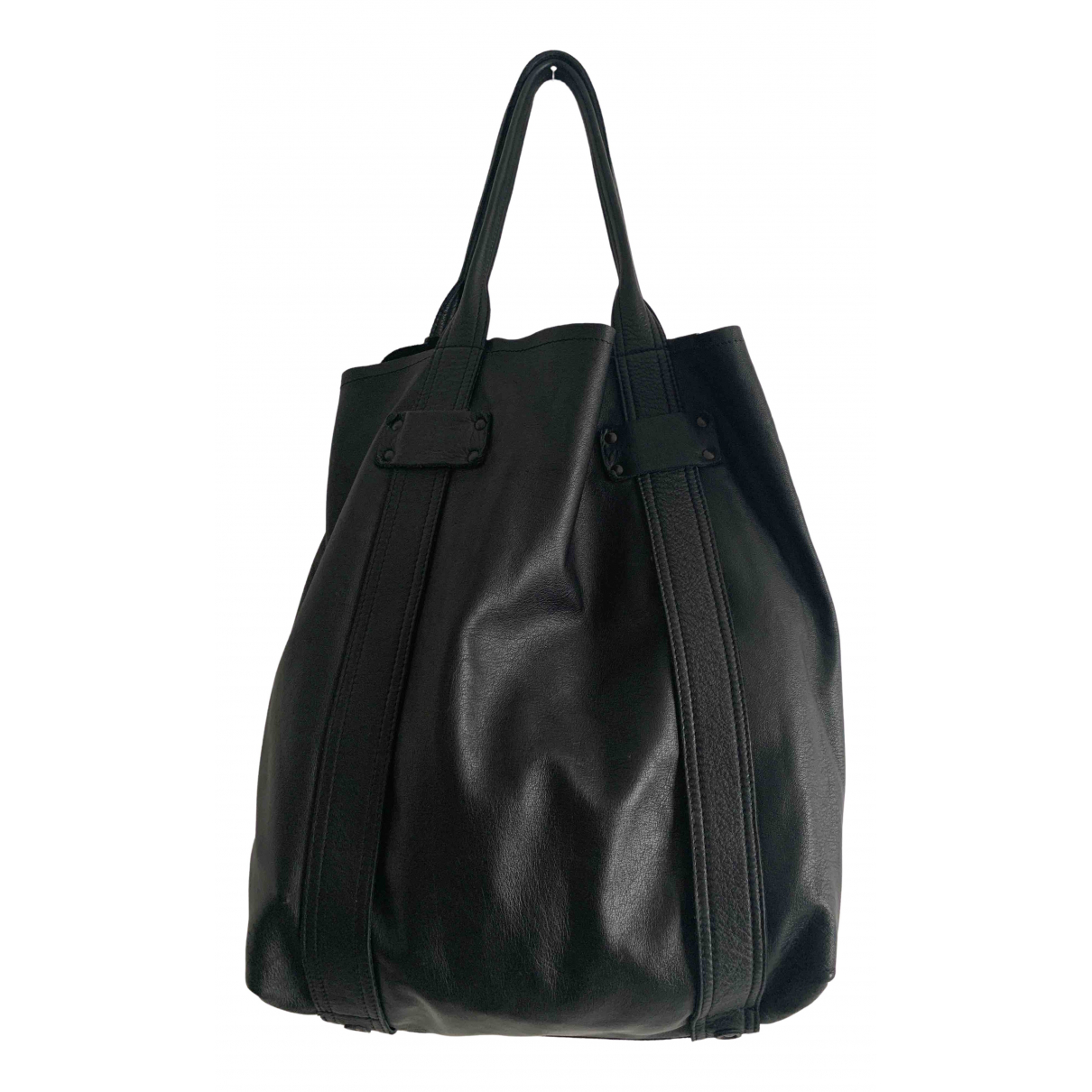 Stephane Verdino \N Black Leather handbag for Women \N