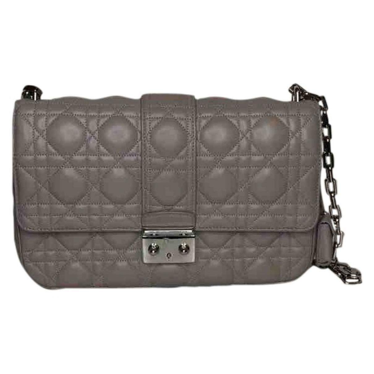 Dior Miss Dior Beige Leather handbag for Women \N