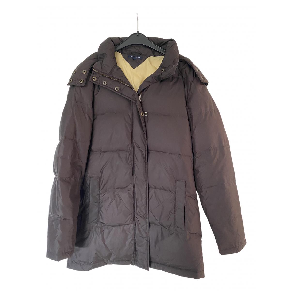 Tommy Hilfiger - Manteau   pour femme - marron