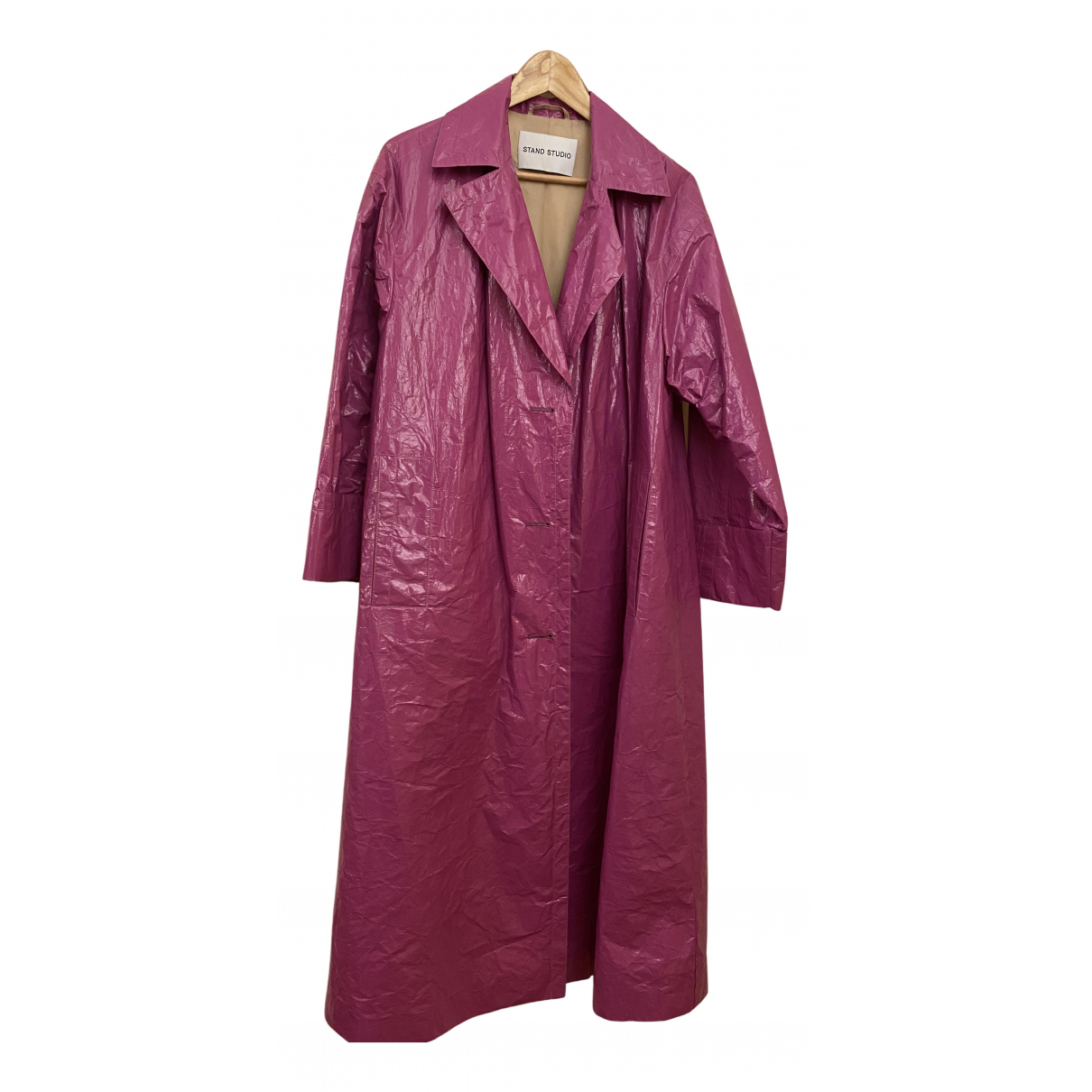 Stand Studio \N Trench in  Rosa Polyester
