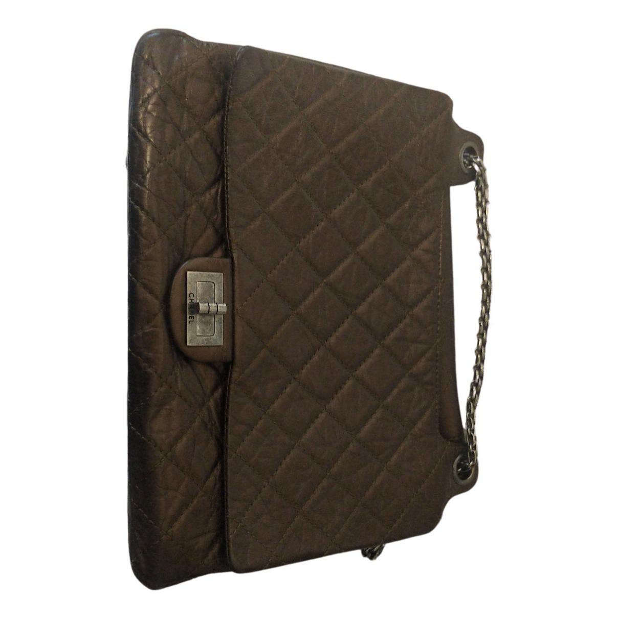 Chanel 2.55 Brown Leather handbag for Women N