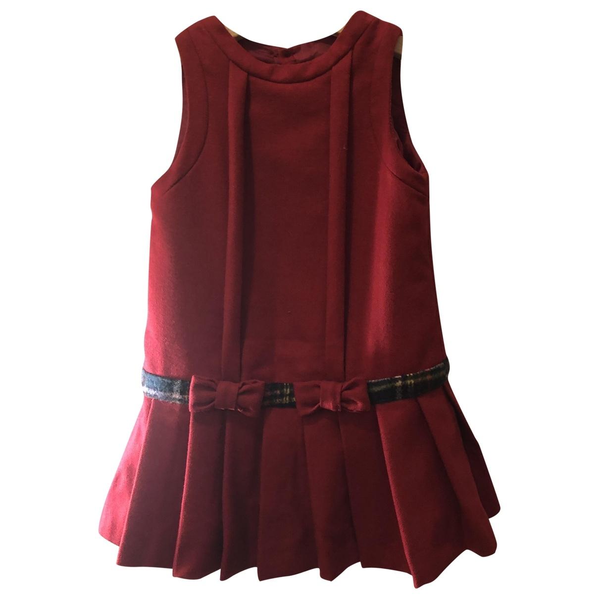 Jacadi - Robe    pour enfant en laine - rouge