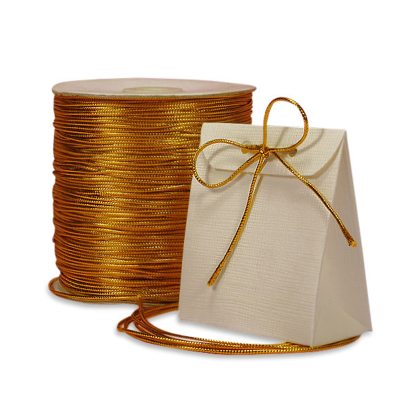 Metal Gold(2MM) X 100 Yards Tinsel Cord 1/16