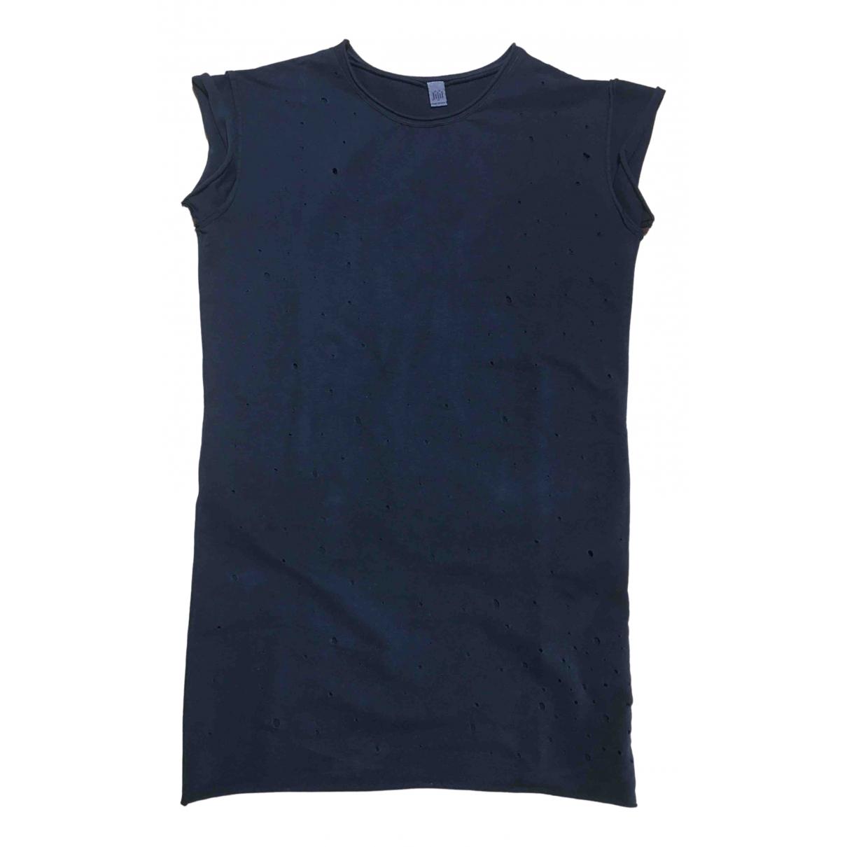 Jijil - Robe   pour femme en coton - elasthane - noir