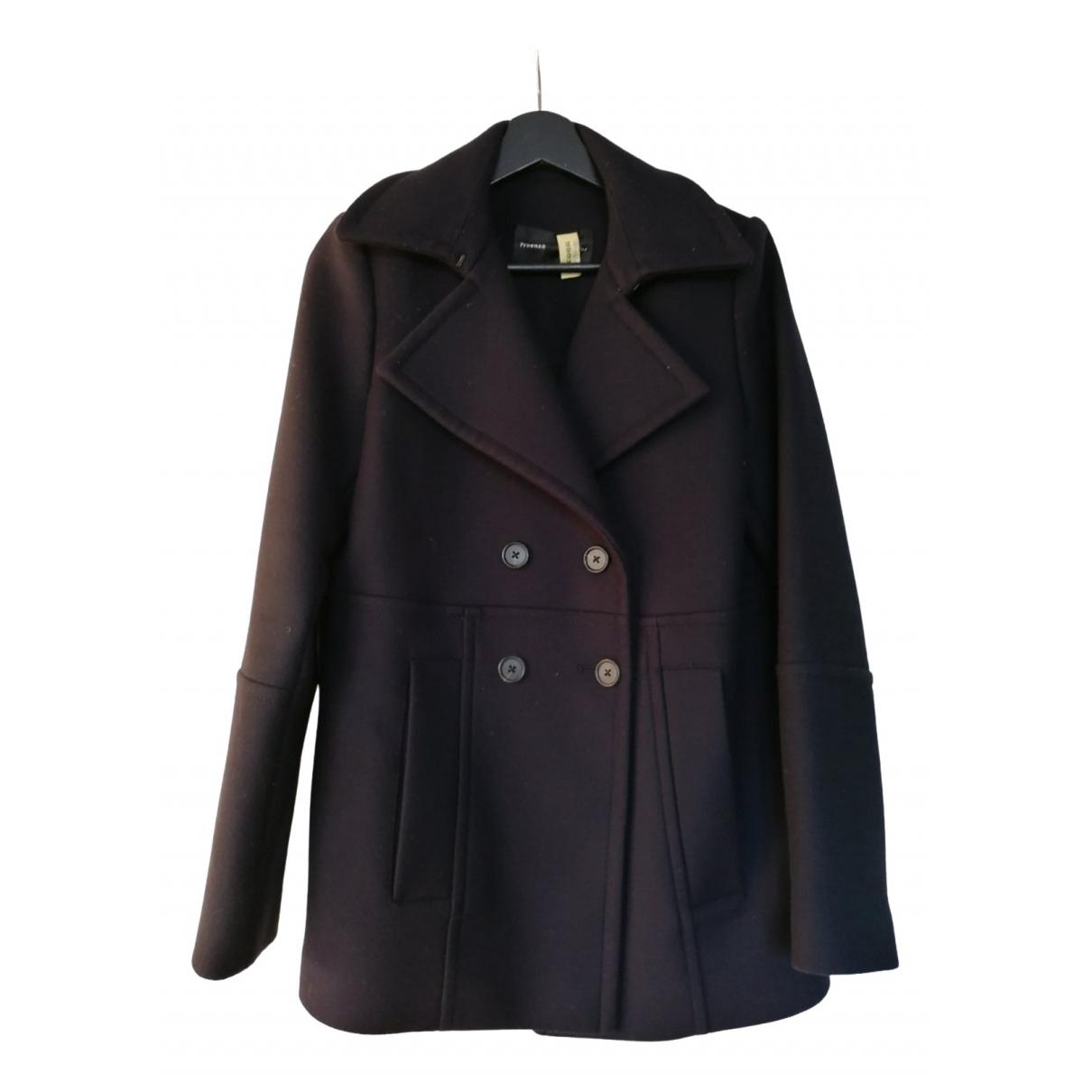 Proenza Schouler \N Blue Wool coat for Women 4 0-5