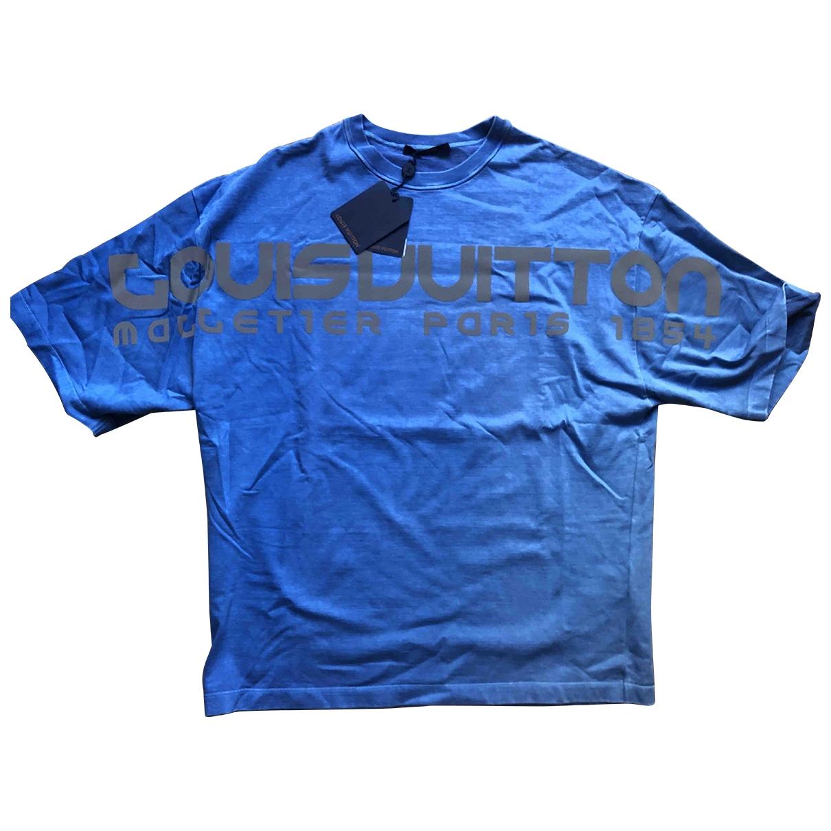 Louis Vuitton \N Blue Cotton Knitwear & Sweatshirts for Men S International