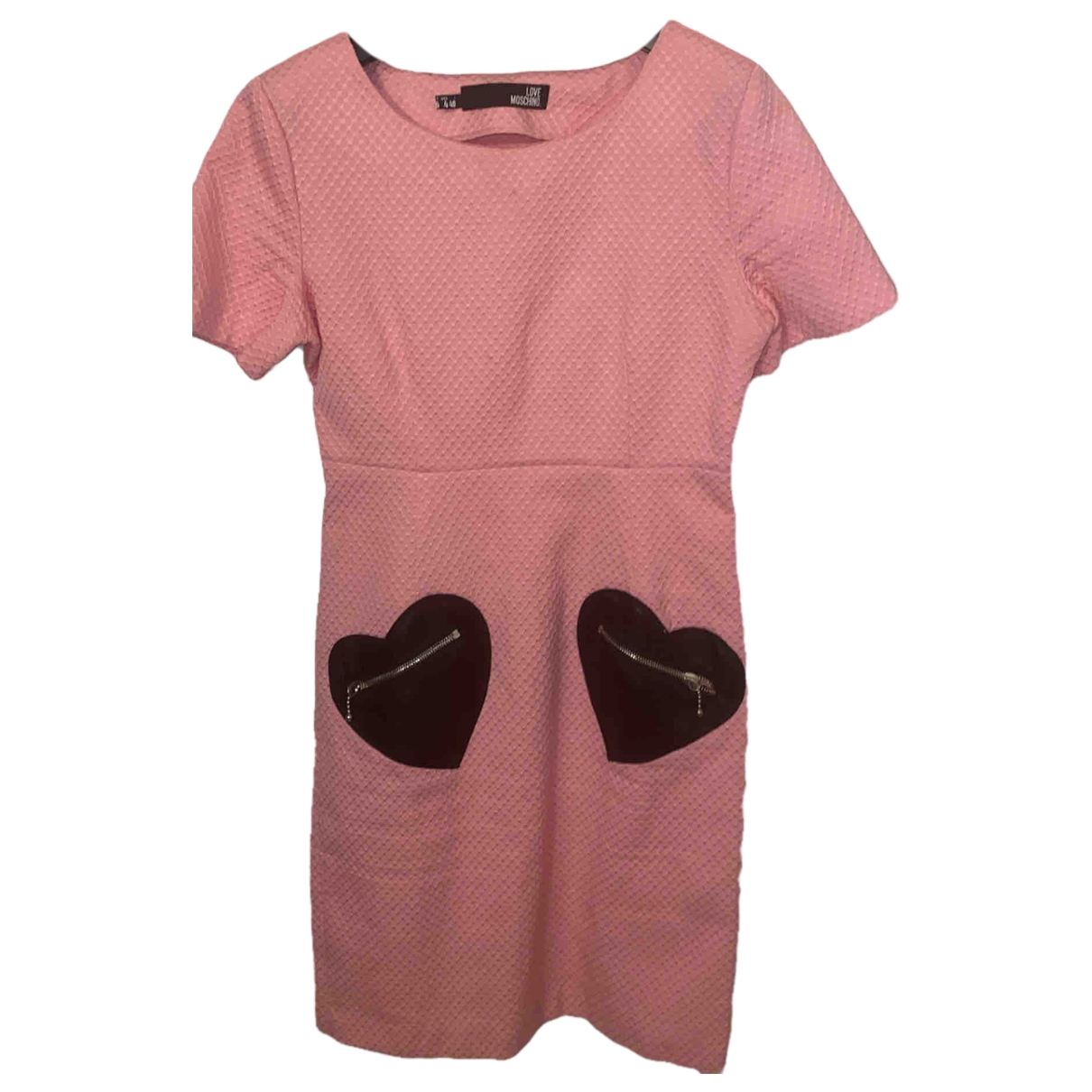 Moschino Love \N Pink Sponge dress for Women S International