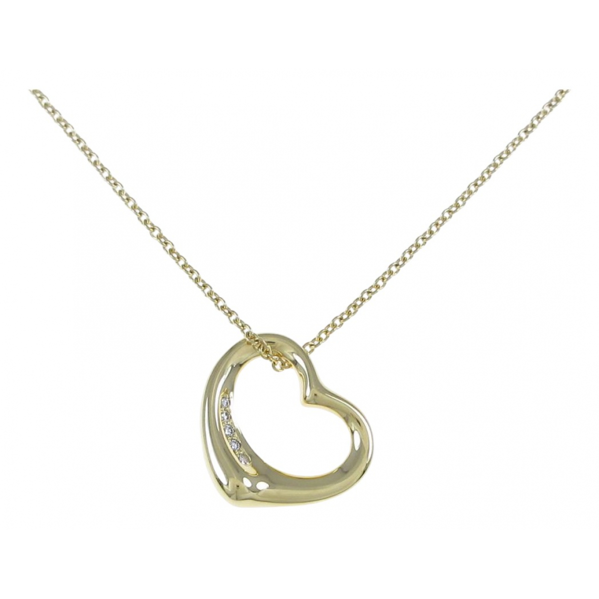 Tiffany & Co Elsa Peretti  Grey Yellow gold necklace for Women \N