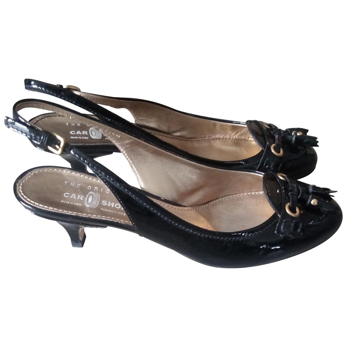 Carshoe - Escarpins   pour femme en cuir verni - noir