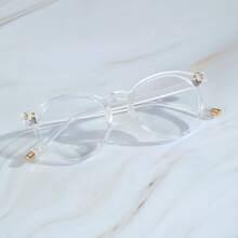 Gafas transparentes de hombres