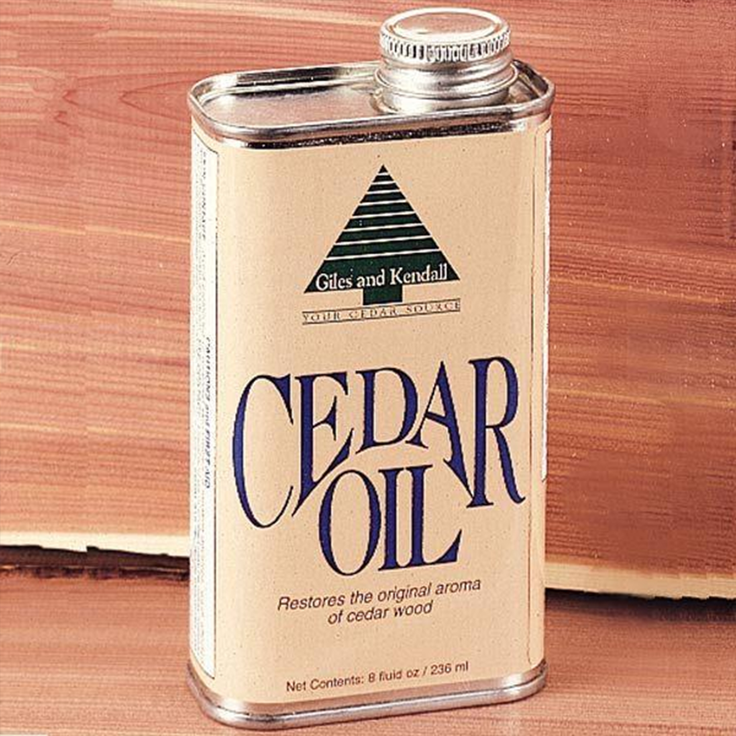Oil Cedar Wood 8 oz