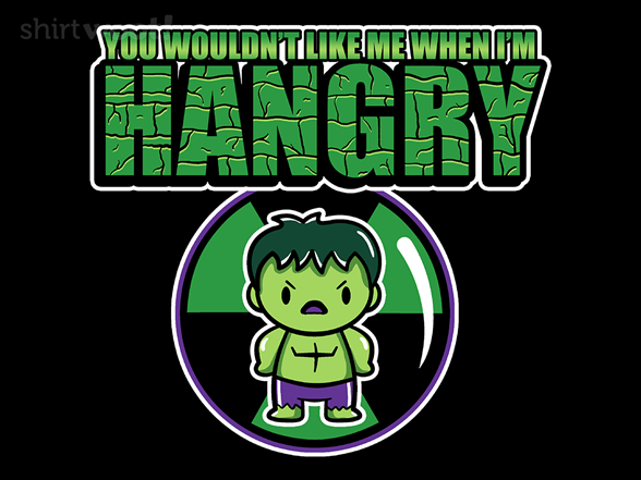 Hangry Hulk T Shirt