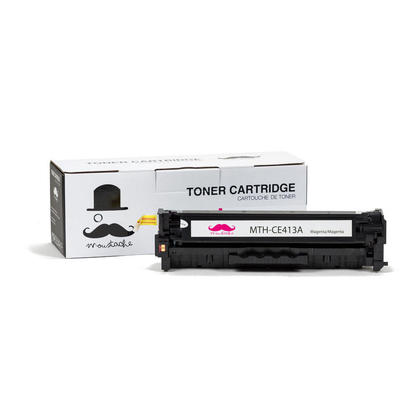 Compatible HP 305A CE413A Magenta Toner Cartridge - Moustache@