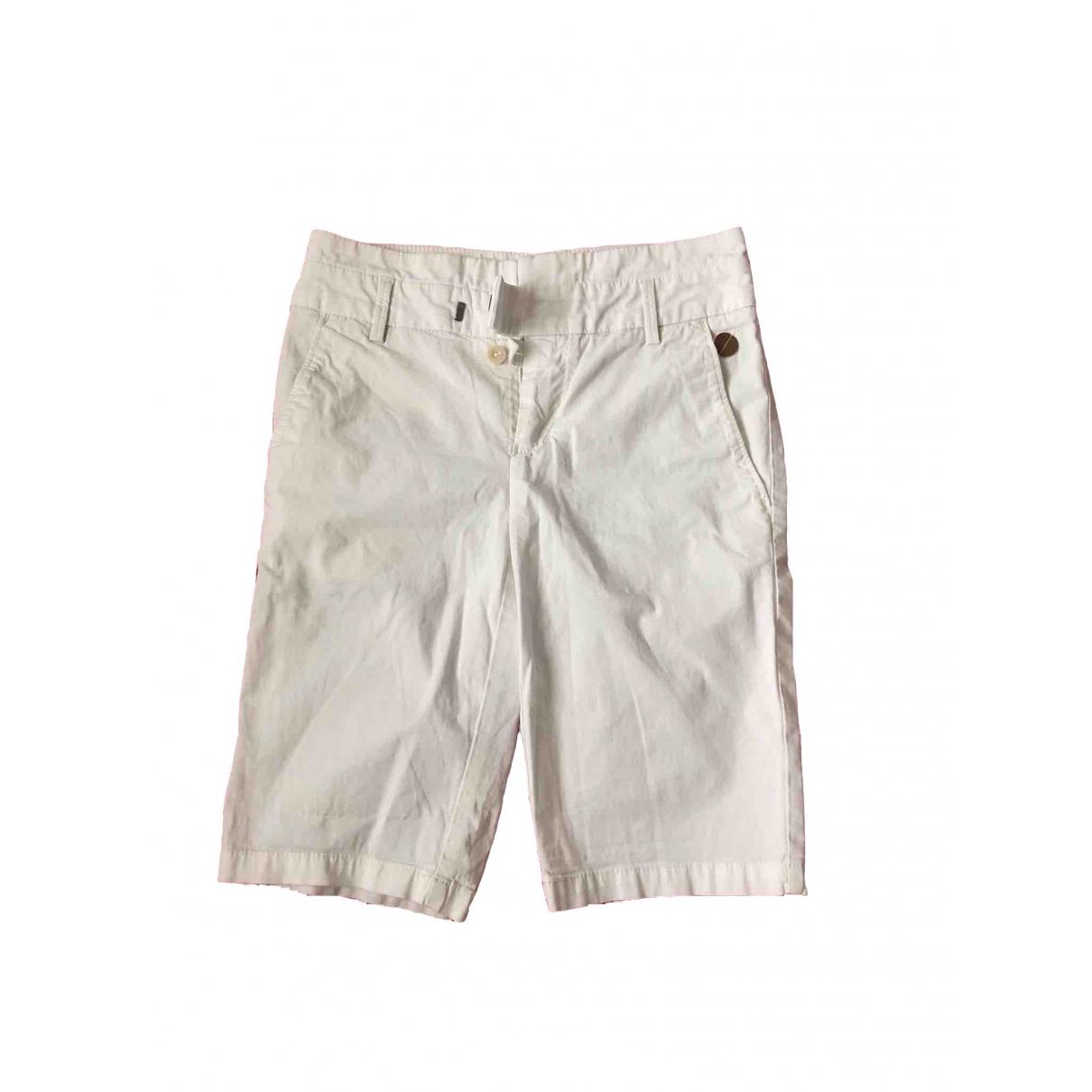 Boss \N White Cloth Shorts for Women S International