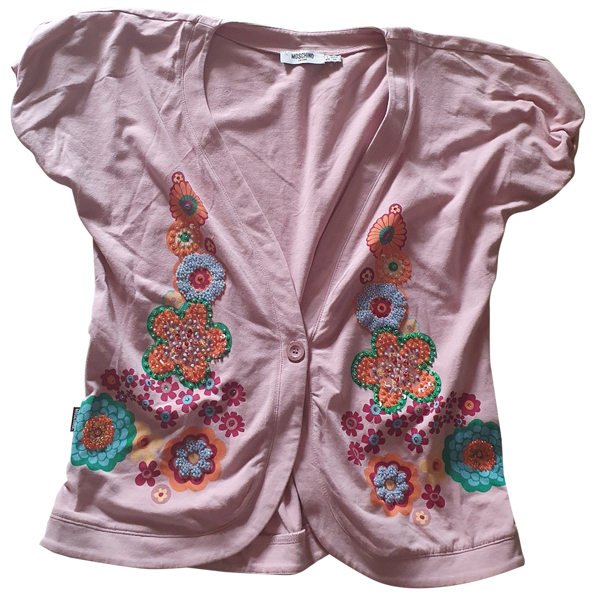 Moschino Cheap And Chic \N Pink Cotton  top for Women 48 IT