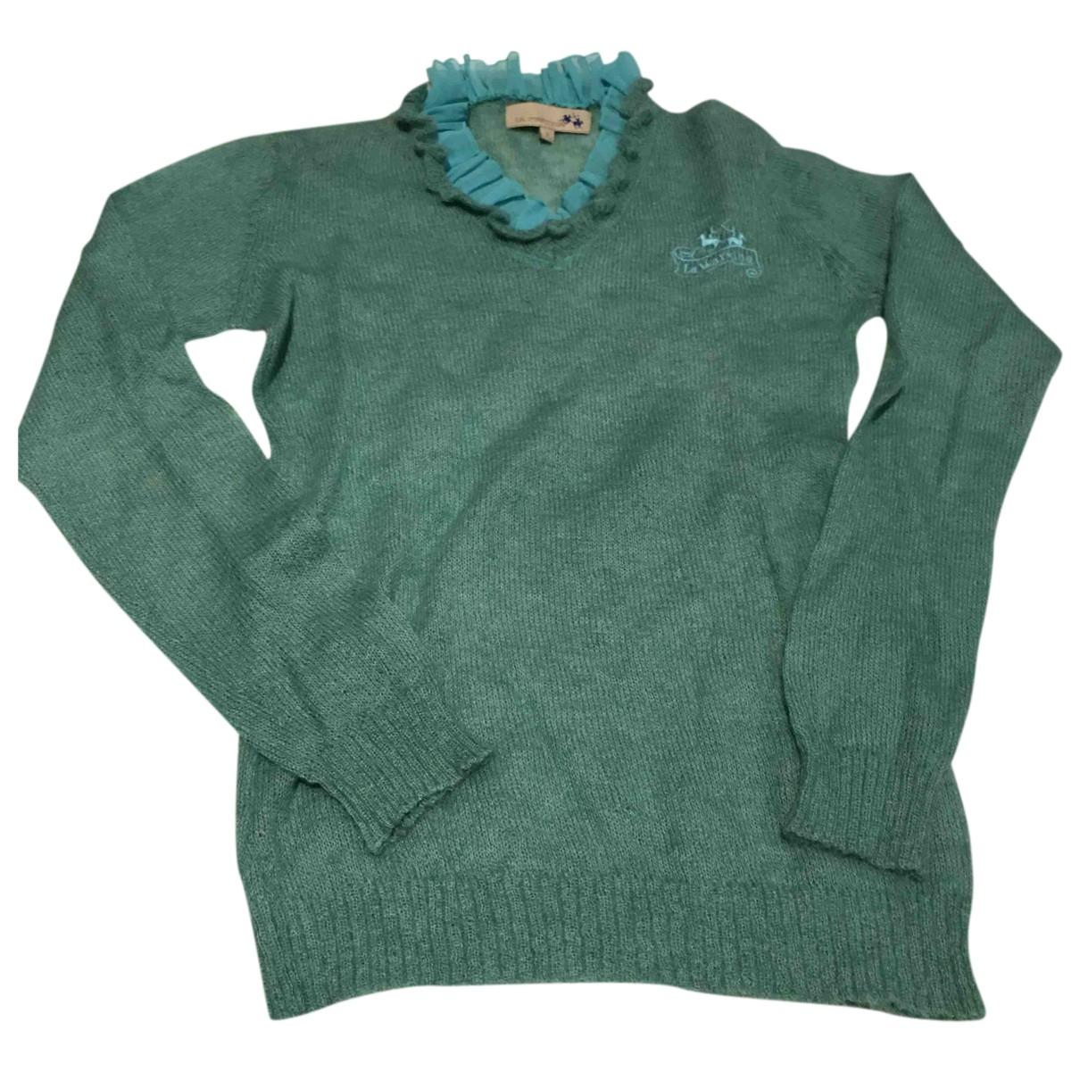 Autre Marque - Pull   pour femme en laine - turquoise