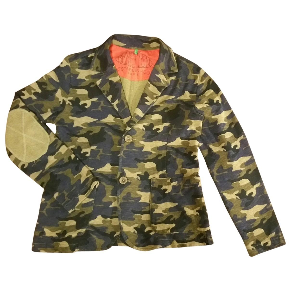 - Blousons.Manteaux   pour enfant en coton - vert