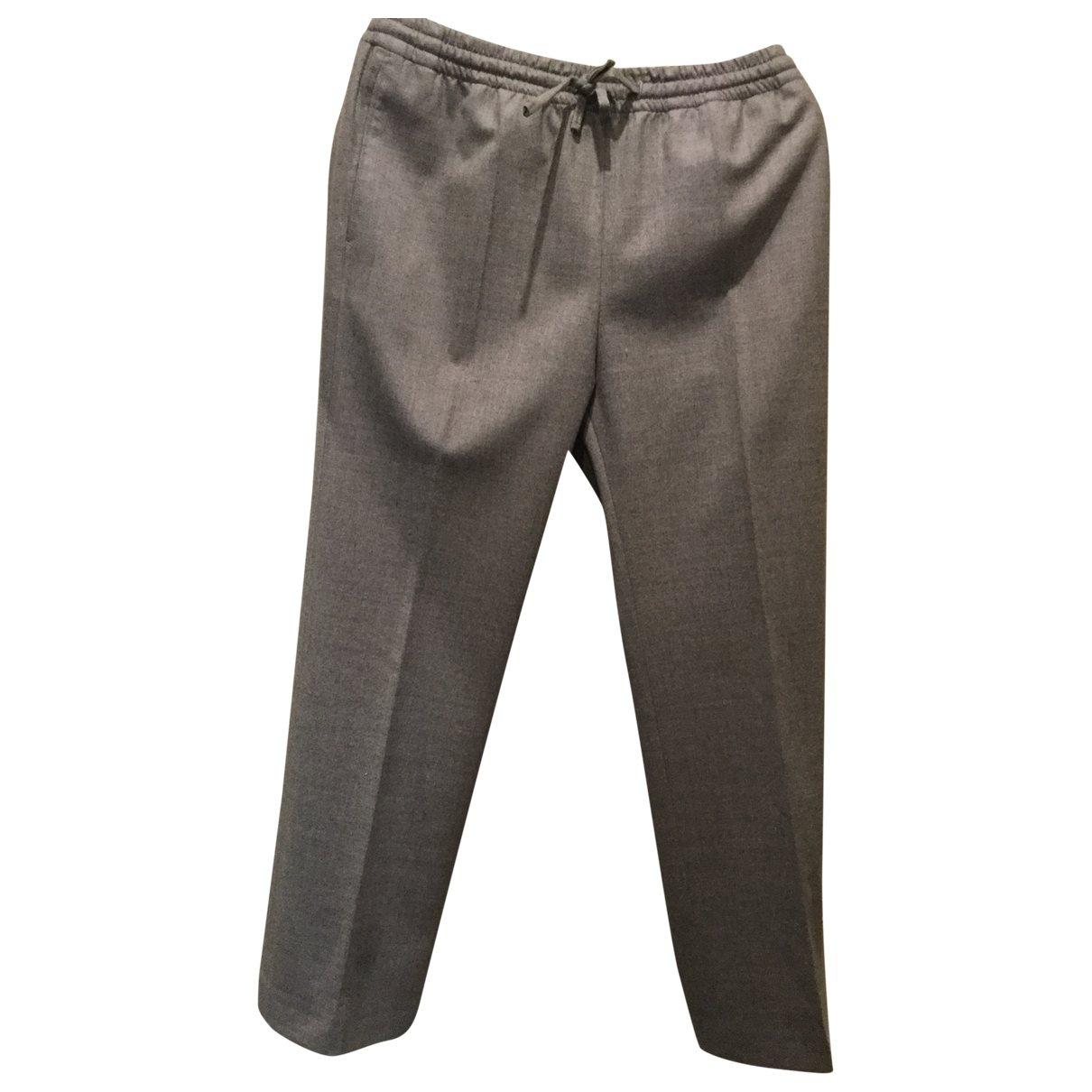 Pantalon recto de Lana Joseph