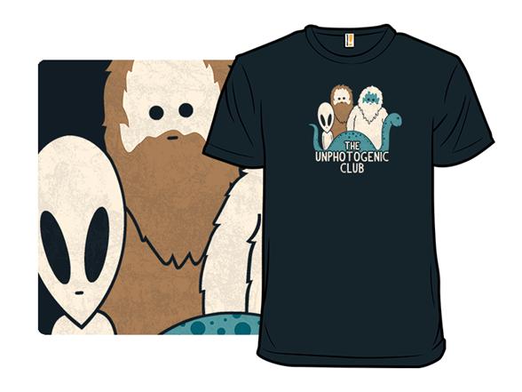 The Unphotogenic Club T Shirt