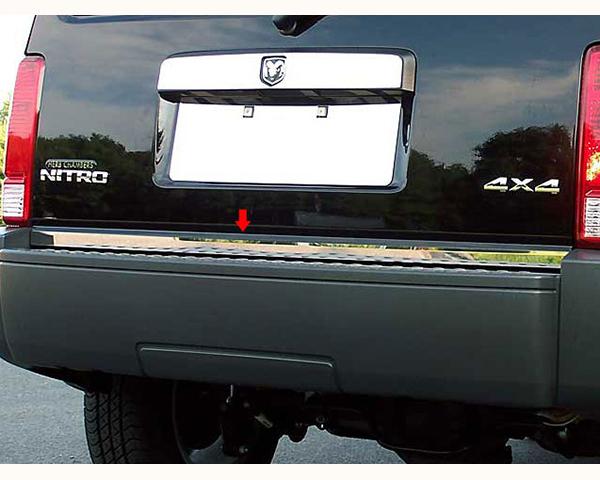 Quality Automotive Accessories 1-Piece 1.25-Inch Width Rear Deck Trim Dodge Nitro 2010