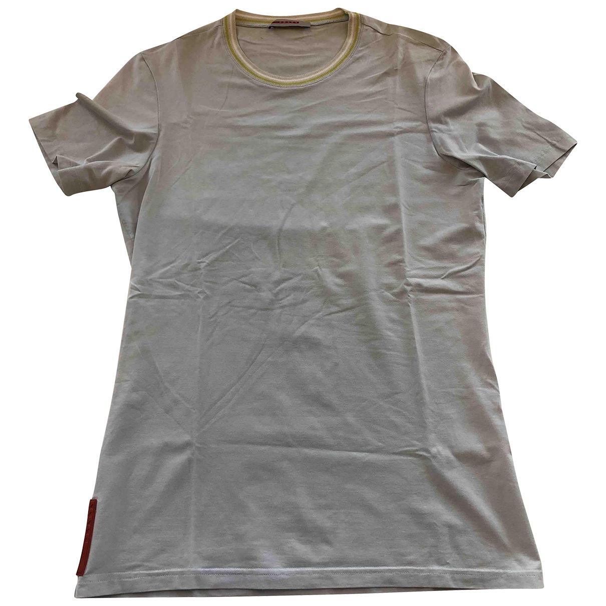 Prada \N T-Shirts in  Tuerkis Baumwolle