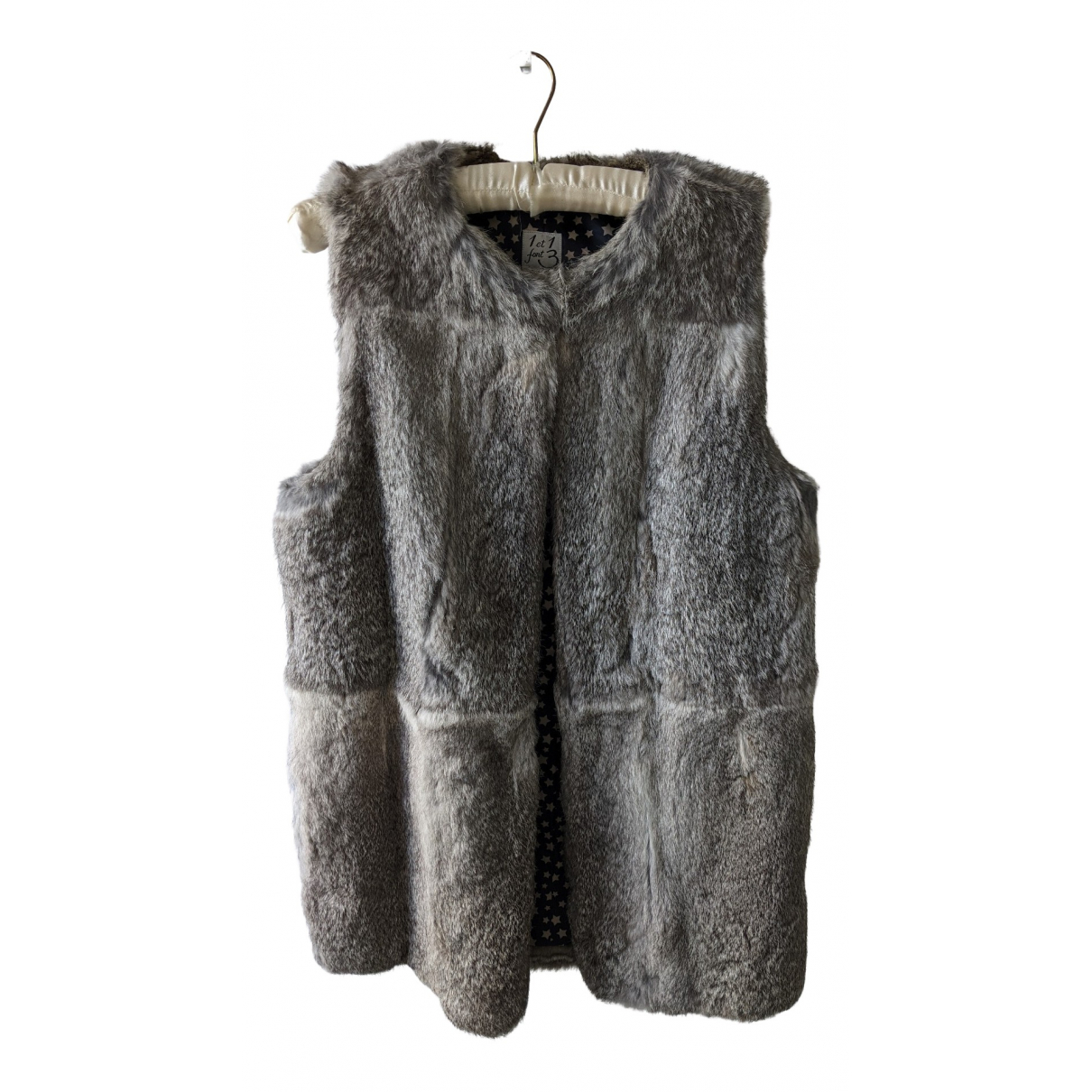 1 Et 1 Font 3 N Grey Rabbit Knitwear for Women 40 FR