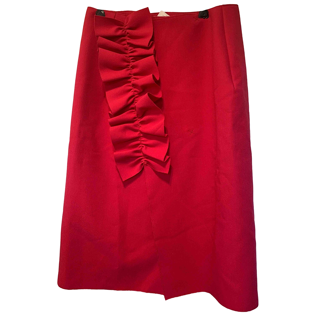 Msgm \N Rocke in  Rot Polyester