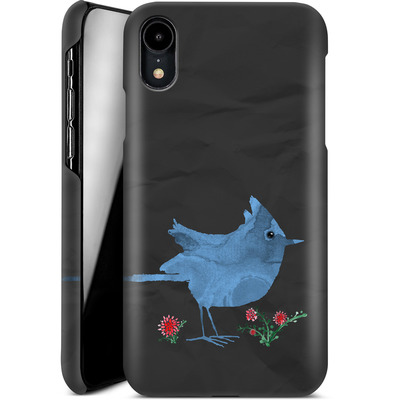 Apple iPhone XR Smartphone Huelle - Watercolour Bird Black von caseable Designs