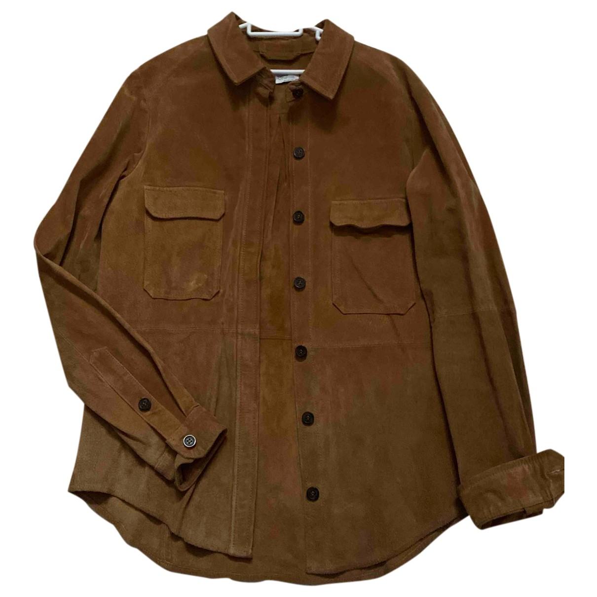 Zara N Camel Suede jacket for Women S International