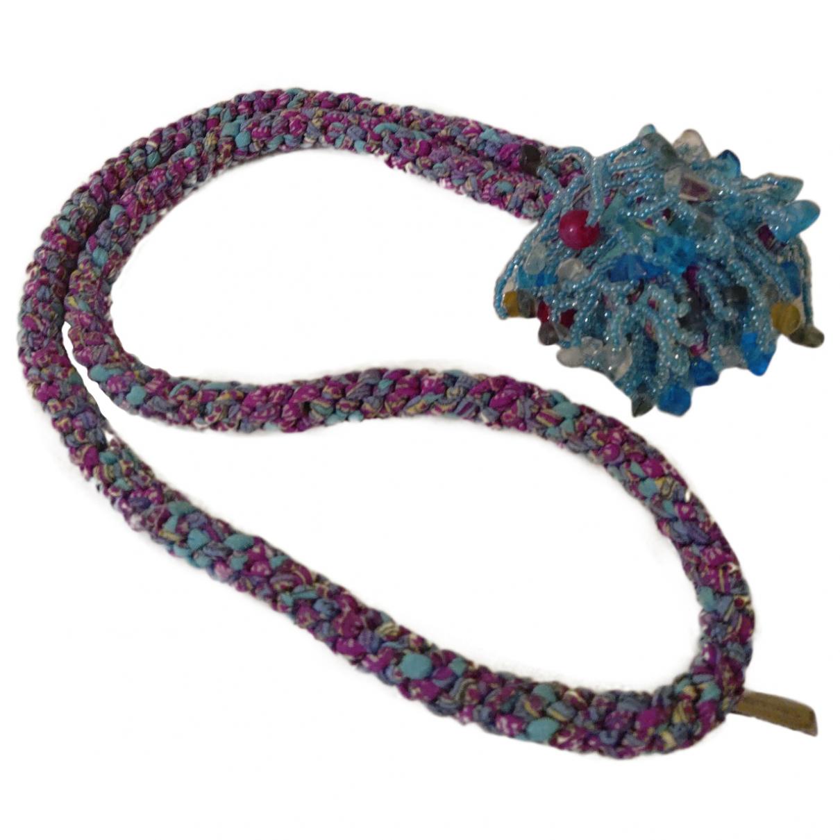 Etro \N Multicolour Silk necklace for Women \N